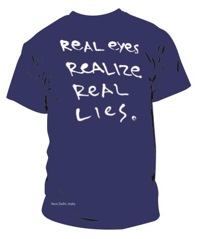 Occhi veri capiscono le vere bugie.