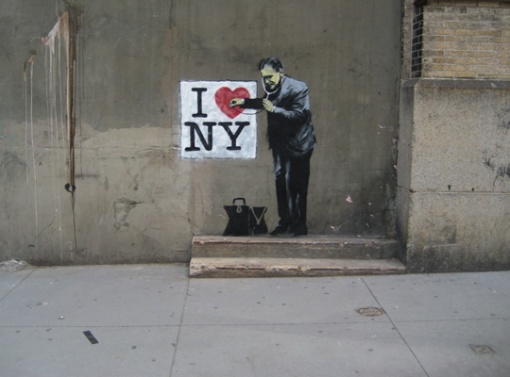 Banksy, newyork, graffiti, streetart, writers