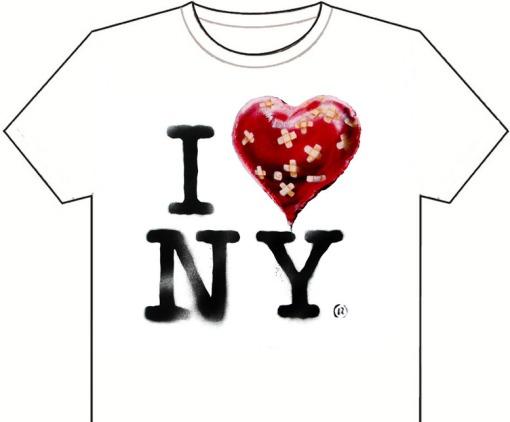 norman mailer, banksy, I love NY