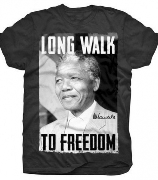 Magliette e Graffiti; Nelson Mandela è entrato nell'immaginario dei miti contemporanei attraverso i più popolari media delle icone che rimangono.