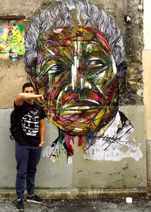 Street-Art-by-Hopare-of-Nelson-Mandela-in-Paris-France-600x846